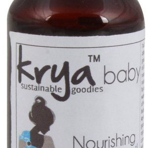 Krya Lemongrass grapefruit leaf skin oil is helpful when baby has red, itchy and rashy skin