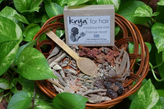 Krya Damage repair Hair Mask 1