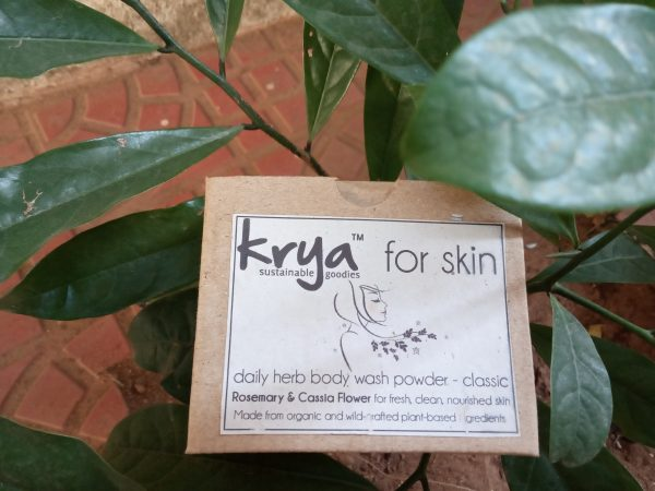 Krya body wash classic meant for oily , skin with high body odour