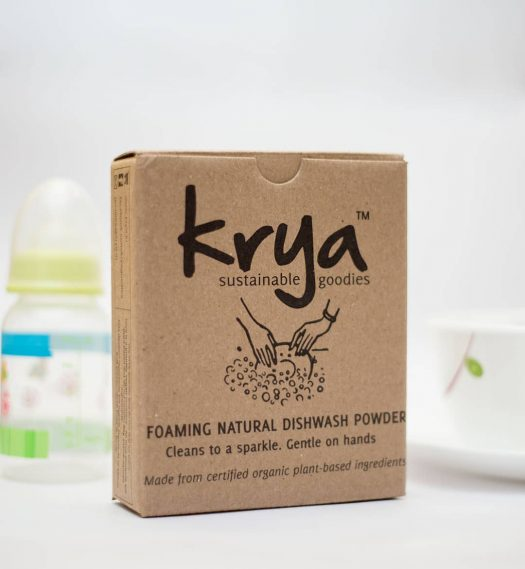 The all natural toxin free Krya dishwash