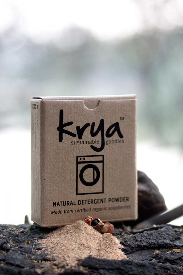 Krya Classic non toxic detergent made from whole soapberries.