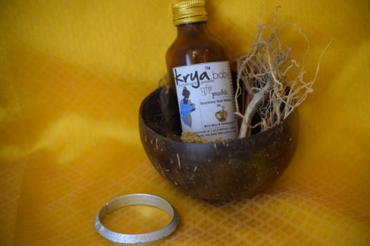 Krya traditional baby massage oil - Pushti